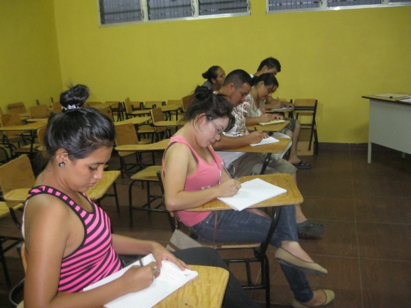 English class.